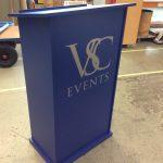 Falcon lectern for VSC